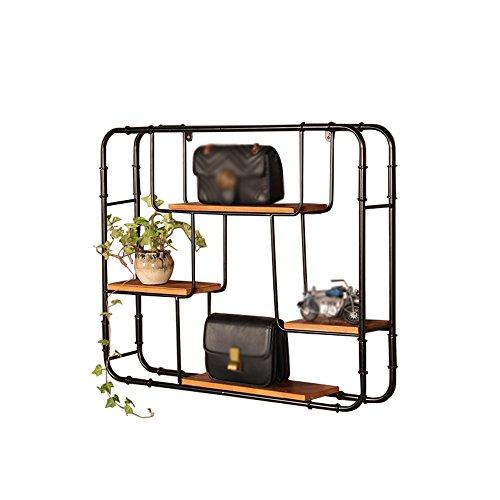 Bastidores de pared de hierro / pantalla de montaje en pared / zapatero / nórdico marco decorativo 91 * 75cm