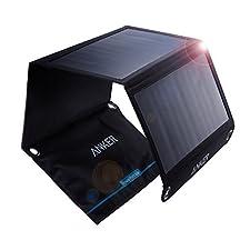 Strom komplett ohne SteckdoseGenießen Sie freie, grenzenlose Stromversorgung mit grüner Energie. Breiten Sie einfach die Solarpanels aus oder bringen Sie diese an Ihrem Rucksack an - schon können Sie alle Ihre Gadgets aufladen.SchnellladetechnologieE...