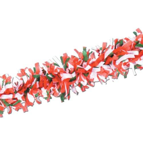 Beistle Packaged Tissue Soffitte Rot/Weiß/Grün -