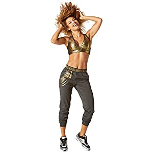 Zumba Fitness Damen Zumba All Night Sweatpants Fitness Overalls und Bodies Frauenhosen