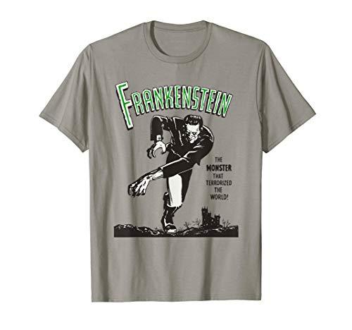 Frankenstein Vintage T Shirt, Original Design