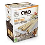 Grissini Proteici - Gusto Sesamo 200g (4x50 gr) - Altissimo contenuto di fibre - SP005