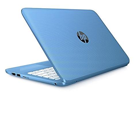 HP Stream 11-y000na 11.6-inch Laptop (Aqua Blue) - (Intel Celeron