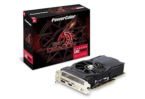Price comparison product image PowerColor AMD ATI Radeon PCI-E RX 550 Red Dragon 2 GB 128 Bit D/H/V Graphics Card - Grey
