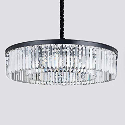 Luxus Modern Embedded K9 Transparente Kristall Runde Regentropfen Kronleuchter Beleuchtung LED Deckenleuchte Kronleuchter High-end Wohnzimmer Esszimmer Schlafzimmer Hotel Kronleuchter Beleuchtung