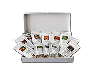 """Tee Geschenk Set aus aller Welt """" Winterbox"""" 12 x 25 g als Weihnachtsgeschenk"""