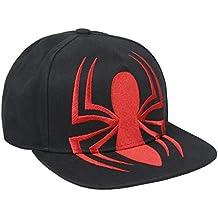ARTESANIA CERDA Gorra Visera Plana Black Spiderman 68a083533e8