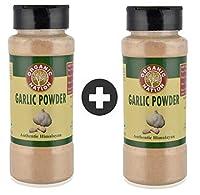 Organic Nation Garlic Powder Enriched with Vitamin B1, B2, B3, B6, Folate Pack of 2
