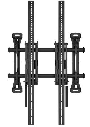 NEC 100012915 Wall Mount for 2 LCD-Monitor 2 x 116.8 cm (46 Inch) Up To 139.7 cm (55 Inch)