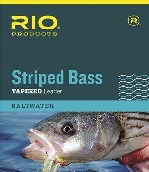 Rio Gestreift Bass Leader 7ft, 3Stück, 7FT - 10LB - 3PK