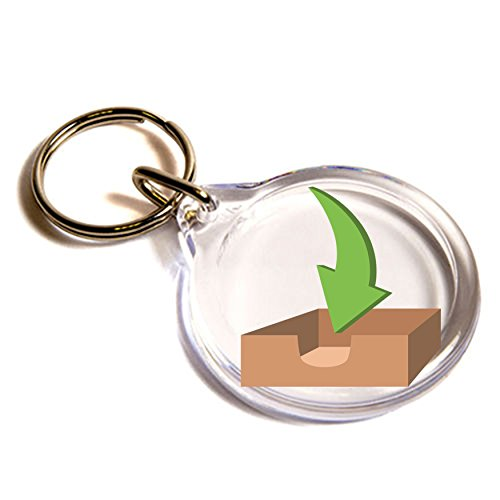 vassoio posta in arrivo gli Emoji Key Ring / Inbox Tray Emoji Key Ring