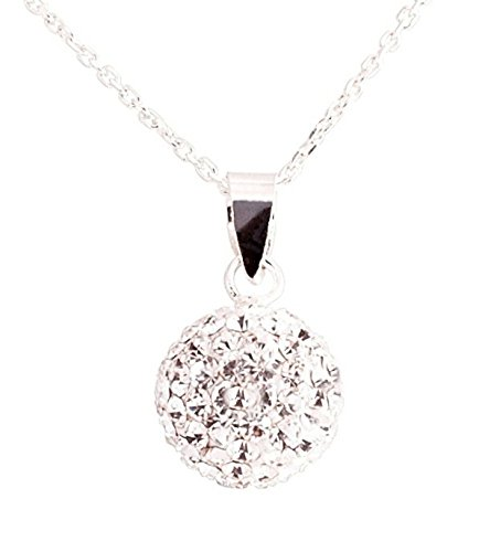 promotional-price-ltd-time-only-sterling-silver-925-diamond-chip-effect-clear-10mm-crystal-ball-neck