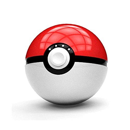 Chillout® – Batería externa Pokemon Pokeball de gran capacidad con LED integrado...