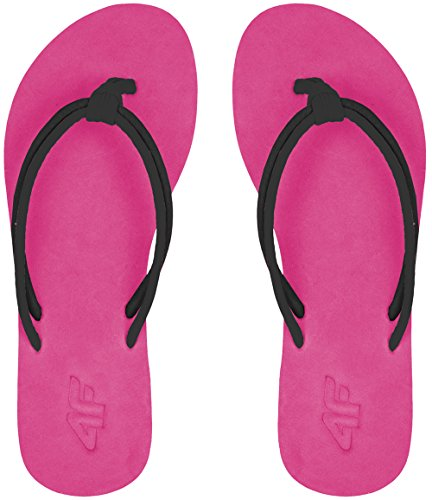 4F–Ciabatte Flip Flops Infradito Ciabatte da doccia Scarpe Spiaggia Scarpe Pantofole kld001ss17() Rosa