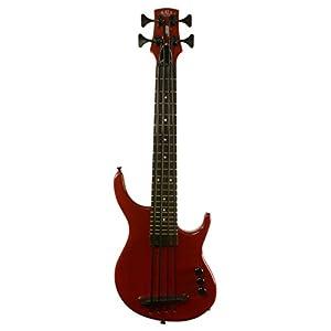 Diseo-con-forma-de-KA-UBASS-KALA-U-Bass-preocupaba-SUB4FS-SRD-4-cuerdas-incluye-bolsa-de-transporte-rojo-vino