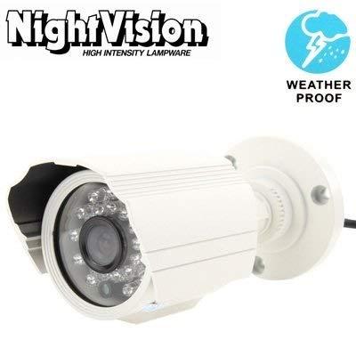 Zichen CZ HD-Überwachungskameras 1/3 Sharp 420TVL 3,6 mm Objektiv IR und wasserdichte Mini Color CCD-Videoüberwachungskamera, IR-Abstand: 30 m Außenüberwachungskameras (Farbe: S-spc-0280b) Sharp Ccd Pal