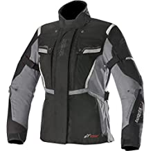Alpinestars Chaqueta Moto Impermeable Para Mujer Stella Bogota V2 Drystar Negro- (L, Negro