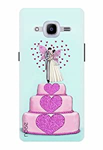 Noise Designer Printed Case / Cover for Samsung Galaxy J2 - 6 (New 2016 Edition) / Patterns & Ethnic / Wedding Cake Design