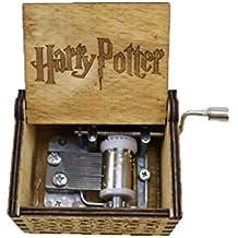 Keep Comfort Caja Antigua Tallada en Madera Caja de música Harry Potter Regalo de año Regalo