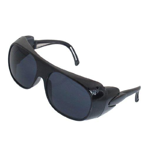 14,5cm Breite Black Frame Braun Rechteck Objektiv Schutzbrille