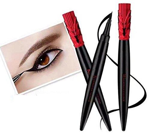 Strollway Augen Make-up Lidschatten für Anfänger Ununterbrochener schwarzer Heller u. Glatter...