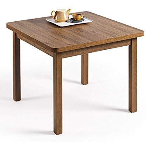 HOGAR24- Mesa Multiusos Comedor Cocina Dimensiones 90 cm x 90 cm ...