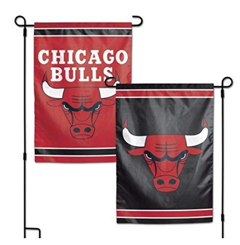 e NBA Chicago Bulls 31,8x 45,7cm Zoll beidseitigen Garten Flagge Logo ()