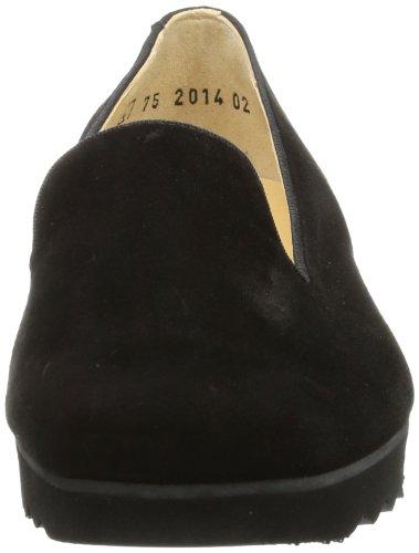 Peter Kaiser RABAT 18843-603, Scarpe chiuse donna Nero (Schwarz (schwarz Suede/Rips))