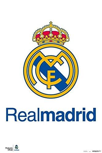 Grupo Erik Editores Real Madrid – Escudo Real – Poster, 61 x 91.5 cm