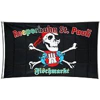 Bandera de Alemania St. Pauli Hamburgo pescado Mercado–90x 150cm