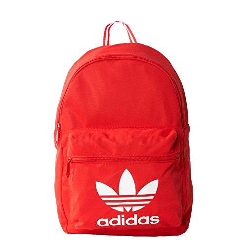 Adidas Classic Tricot Zaino, Unisex, Zaino, Classic Tricot, Rosso acceso, 44 x 28 x 13 cm
