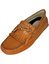 Samsonite Schuhe Herrenschuhe Shoe Slipper 102131 cognac