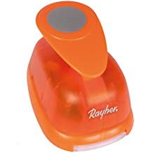 Rayher Hobby 8961400 Motivstanzer Rund/Kreis, ø 5,08 cm- 2 Zoll, geeignet für Papier/Karton bis zu 200g/m²