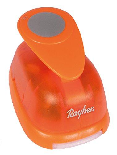 Rayher Motivstanzer Rund/Kreis ø 2,54cm, 1 Zoll, geeignet für Papier/Karton bis zu 200g/m²