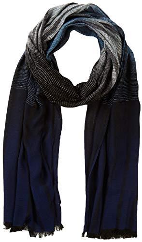 s.Oliver Herren 97.911.91.7188 Schal, Blau (Blue Stripes 59g3), One Size (Herstellergröße: 1)