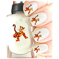 Childrens Nail Art Stickers - Fun and easy to use! Ideal Christmas Present / Gift - Great Stocking Filler Winnie the Pooh - Tigger