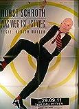 Horst Schroth - Witten 2011 Konzert-Poster A1