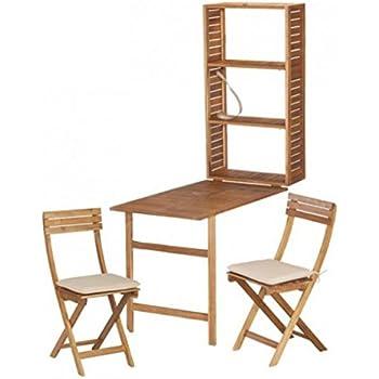 5tlg balkonm bel set serena akazie sitzgruppe. Black Bedroom Furniture Sets. Home Design Ideas