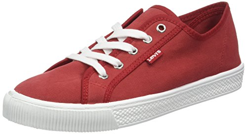 Levi's Levis Footwear and Accessories Herren Malibu Bässe, Rot (Rouge), 44 EU - Schuhe High Levis Top