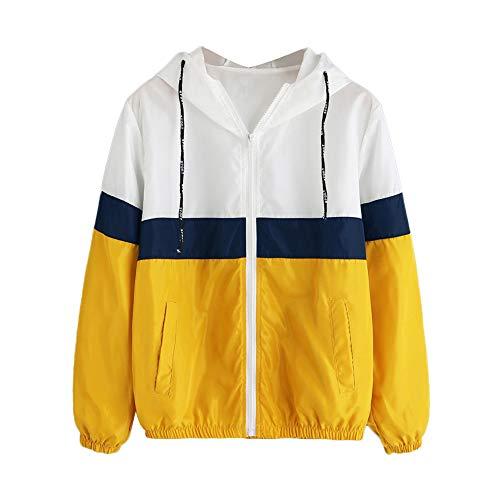 TOPKEAL Jacke Mantel Damen Herbst Winter Sweatshirt Steppjacke Kapuzenjacke Dünne Skinsuits mit Kapuze Hoodie Langarm Pullover Outwear Coats Tops Mode 2019 -