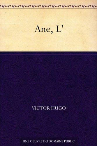 Couverture du livre Ane, L'