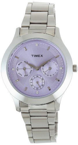 Timex E-Class Analog Purple Dial Women's Watch - TI000Q80500 image