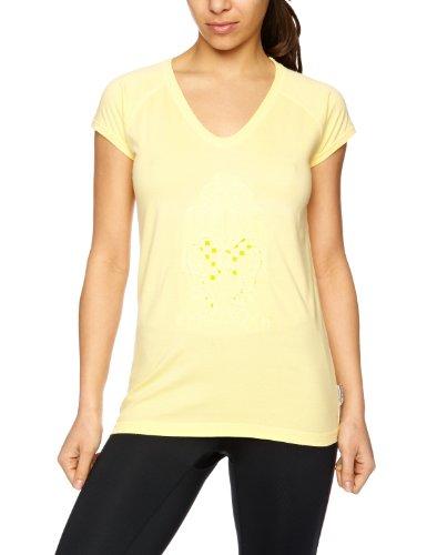 Trespass Damen Sandie Vn-Shirt aus Baumwolle Beige - Marzipan