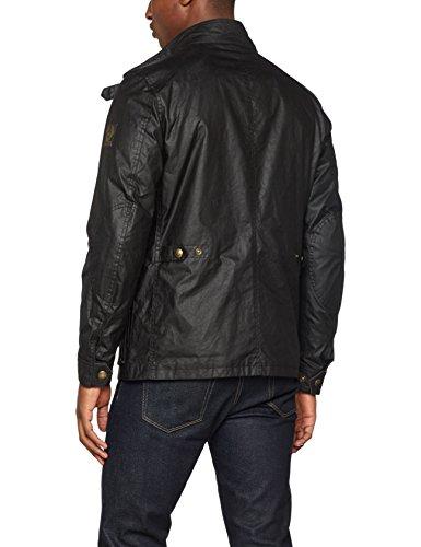 Belstaff Herren Jacke New Tourmaster Jacket Man Schwarz (Black 90000)