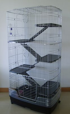F23 Sky Three Storey Ferret Chinchilla Mammal Cage 1