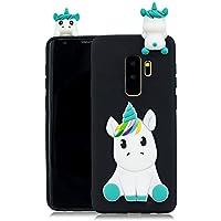 Everainy Samsung Galaxy S9 Plus Silikon Hülle Ultra Slim 3D Einhorn Muster Ultradünn Hüllen Handyhülle Gummi Case... preisvergleich bei billige-tabletten.eu