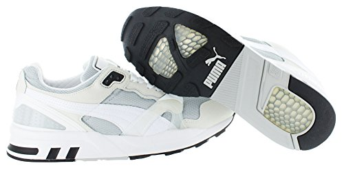 Puma XT2 White On White Synthétique Baskets Silver-White