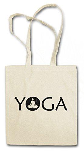 Urban Backwoods Yoga ?J? Shopper Reusable Hipster Shopping Cotton Bag Einkauftasche Einkaufstasche Tasche Stoff Stofftasche Jutebeutel Beut...