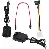 Buwico SATA/PATA/IDE drive to USB 2.0Adaptador Convertidor Cable para 2.5/3.5Disco Duro