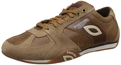 Woodland Men's Gc 1215112Y14 Brown Nubuck Leather Sneakers - 9 UK  available at amazon for Rs.1947